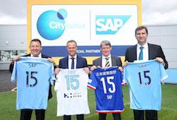 SAP signs global cloud partnership with City Football Group