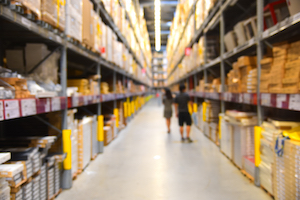 Robotics integrated with SAP Extended Warehouse Management