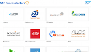 SAP launches partner app hub for SuccessFactors