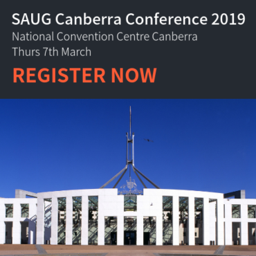 SAUG focus on Digital Transformation in the Public Sector at SAUG Canberra Conference