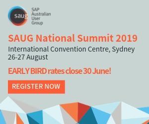 SAUG Summit Early Bird Rates Close 30 June!