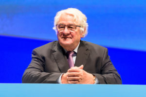 Hasso Plattner at Sapphire 2019 (SAP HANA on Power)