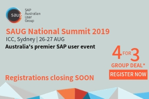 Registrations for SAUG National Summit 2019 are closing SOON!