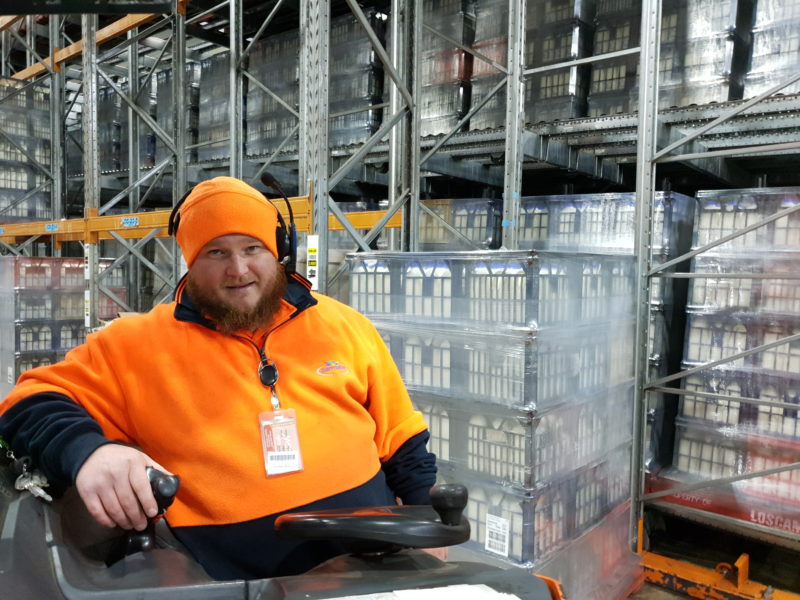 Lactalis Increase Warehouse Productivity with Honeywell Voice