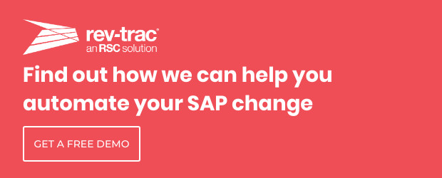 Faster, safer SAP change – It is possible!: Rev-Trac