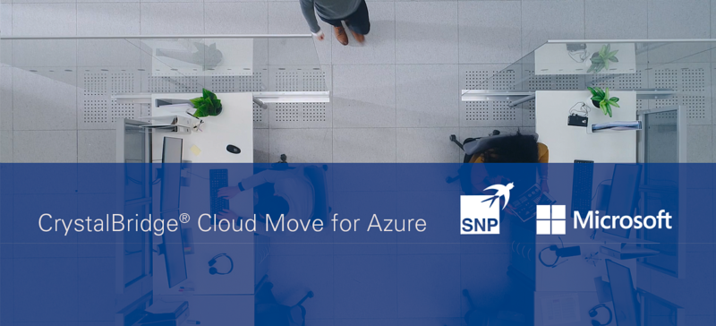 SNP's New Move-to-Cloud Solution Moves Microsoft Customers to the Azure Cloud